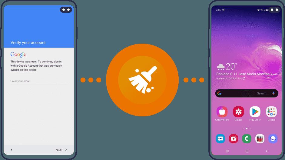 remove samsung frp lock passfab android unlocker